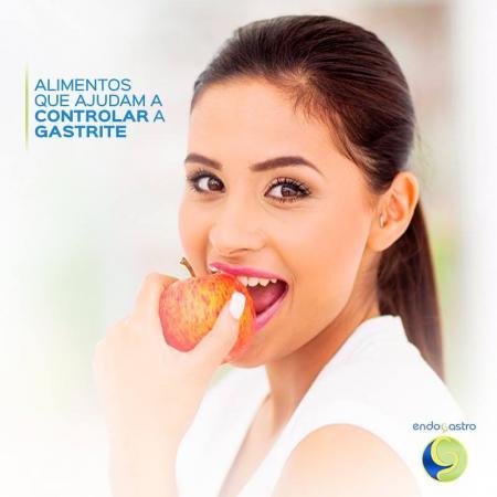 Alimentos que ajudam a controlar a gastrite