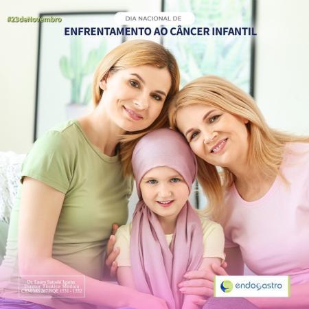 Dia Nacional do Enfrentamento ao Câncer Infantil.